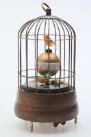 Vogelkäfig Uhr mit Wecker